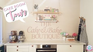WELCOME TO MY CAKE ROOM | ROOM TOUR | Abbyliciousz The Cake Boutique