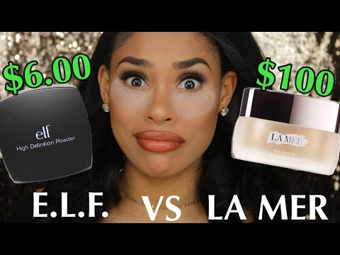 $6 SETTING POWDER VS $100 SETTING POWDER!!!! | DUPE OR POOP?