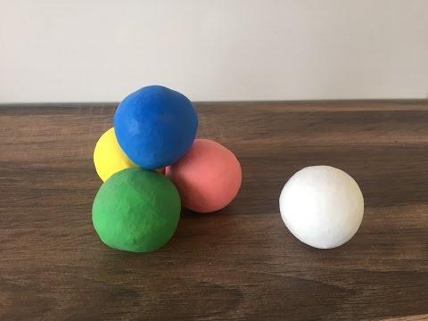 DIY Jonglierball / Anti-Stressball herstellen,Basteln mit und für Kinder, schnelle und einfache Idee