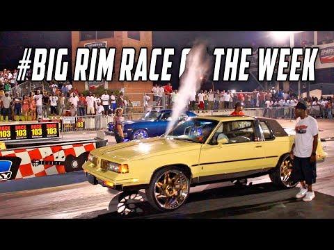 #BigRimRaceoftheWeek - Nitrous Cutlass on 24s VS Pontiac Ventura on 24s : Memphis, TN