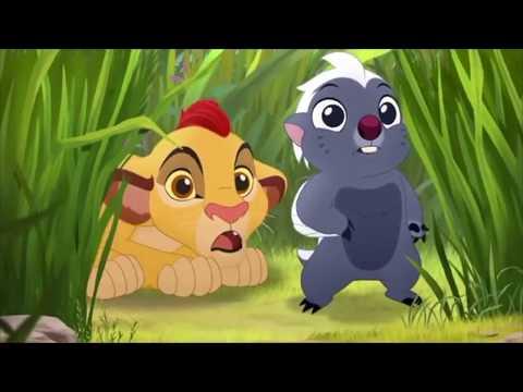 The Lion Guard The Morning Report - Baby Fuli And Baby Kion & Bunga Meet Pua's Float Scene [HD]