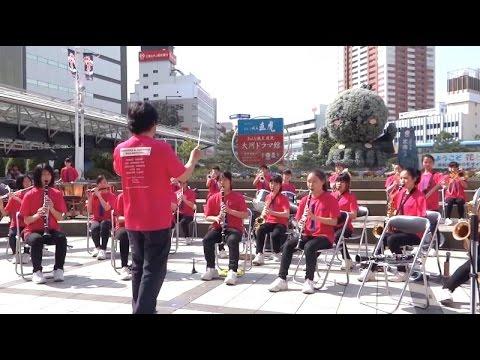 三方原中学校 吹奏楽部「J-Best'16」