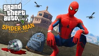 SPIDER-MAN: HOMECOMING!! (GTA 5 Mods)