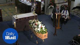 Geoff Hurst Pays Tribute At England Goalkeeper Gordon Banks Funeral