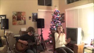 "Wynonna Judd ""She Is His Only Need"" - Live Acoustic Guitar Cover [Young Sister/Brother Duo]"