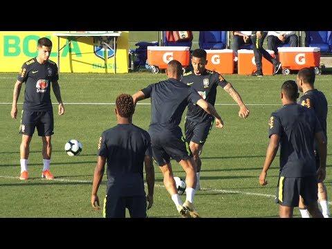Seleção brasileira segue preparação para a Copa América na Granja Comary