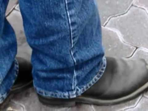 bootvideo 222 - 21 Random Boot Shots - Engineers Harness Cowboys and Biker Boots