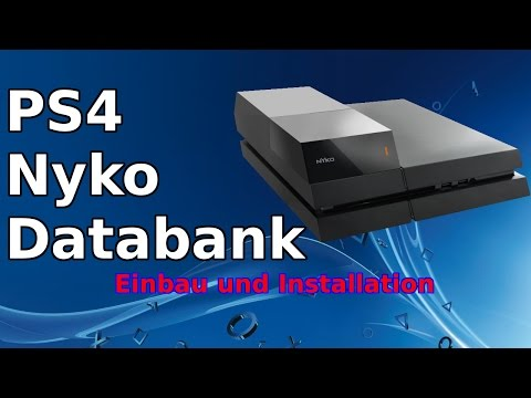 PS4 Nyko Data Bank [Ps4 aufstocken mit 3,5 zoll festplatte] [German]