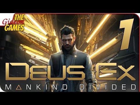 Прохождение Deus Ex: Mankind Divided #1 ➤ ЖЕЛЕЗНЫЙ ДРОВОСЕК