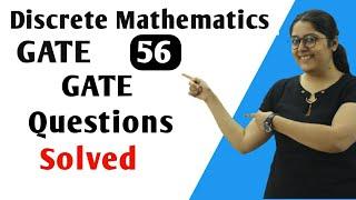 GATE Question Solved CSE | Discrete Mathematics in HINDI | Discrete Mathematics GATE
