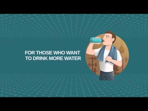 Aqualert Prämie: Wasser Trinken Erinnerung Video