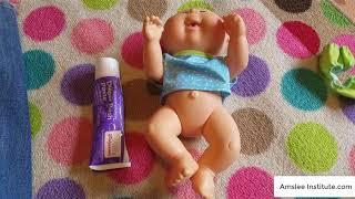 Apply Diaper Rash Cream