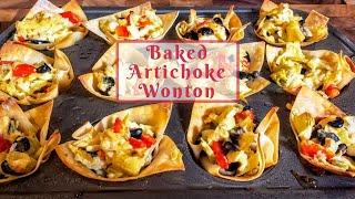 Baked Artichoke Wonton | Holiday Appetizers | Pit Boss Pellet