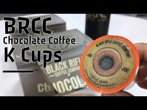 Chocolate-flavored Coffee Rounds K Cups from Black Rifle Coffee Coffee Review