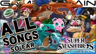 Identifying ALL 183 Smash Bros. Ultimate Songs Revealed So Far!