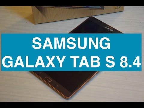 Samsung Galaxy Tab S 8.4, video recensione completa