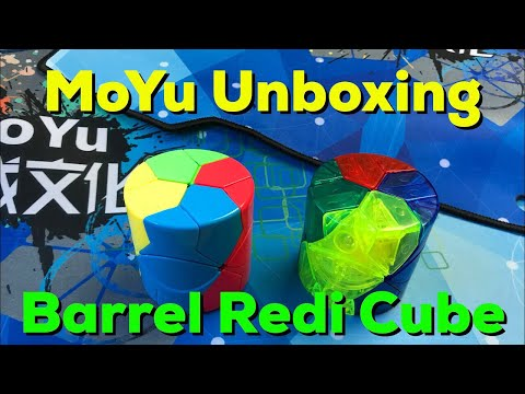 MoYu Unboxing Barrel Redi Cubes and Two Mats!
