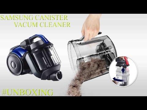 #UNBOXING Aspiradora Samsung Canister Vacuum Cleaner SC07F50HR
