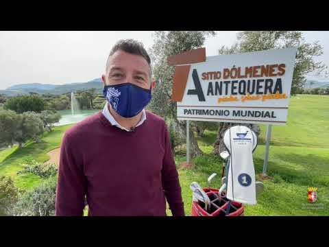 El Sitio de los Dólmenes se promociona también en el Campo de Golf de Antequera