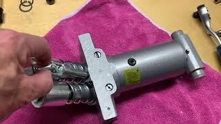 Reparatur eines Hydraulik Wagenheber BGS 2889