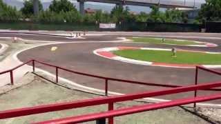 preview picture of video 'Pista MiniAutodromo Tazio Nuvolari Marigliano ( NA )'