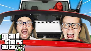 Extreme Car Chase To Reveal Secrets! (GTA 5 But In Real Life for 24 Hours)