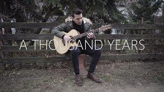 Christina Perri   A Thousand Years   Fingerstyle Guitar Cover