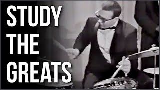 Joe Morello Take Five Solo | STUDY THE GREATS