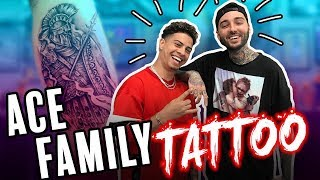 ACE Family Gets TATTOOED!! (by Romeo Lacoste)