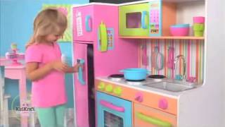 Childrens Play Kitchens Toy Kitchen For Christmas And Thanks Giving 2013 KidKraft