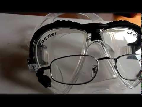 Taucherbrille mit optischen Gläsern - Selbstbauanleitung