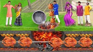 भूमिगत तंदूरी चिकन वाला Underground Tandoori Chicken Wala Comedy Video हिंदी कहानिय Hindi Kahaniya