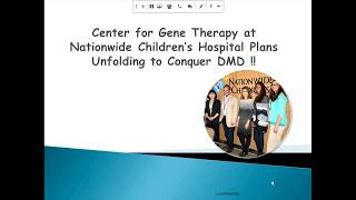 Gene Therapy for Duchenne – PART 2: Nationwide Children's Hospital (September 2017)