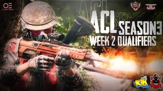 ACL  Season 3, Week 2 Qualifiers | Organised By OFFSIDER ESports | Powered By DG GAMING | Playmonk