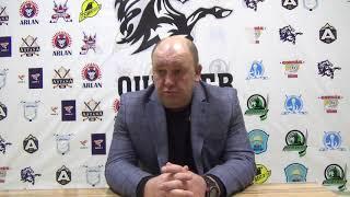 МЛК «JASTAR» Послематчевое интервью «QULAGER» - «GORNAK» Гостиев Борис Борисович