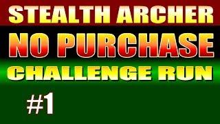 Skyrim Walkthrough NO PURCHASE CHALLENGE RUN! - Part 1, Intro + How to Do a Zero Start