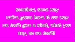 Cher Lloyd Ft. Busta Rhymes - Grow Up (Lyrics)