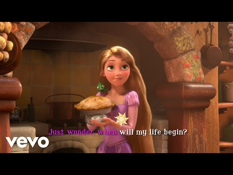 Rapunzel.Daily routine