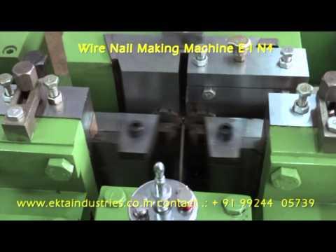 Wire Nail Grinder Machine