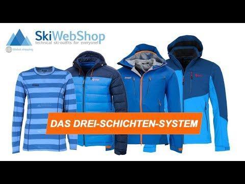 Skibekleidung Tipps | Wie funktioniert das Dreischichtsystem?