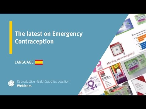 The latest in Emergency Contraception