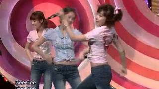 SNSD - Let's talk about love + Gee @ SBS Inkigayo 인기가요 20090329