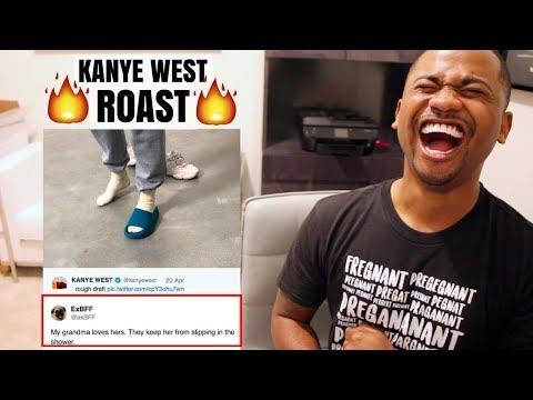 The Internet ROASTS Kanye West Fashion + reading his tweets