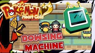 Pokémon HeartGold - Como Conseguir Dowsing Machine (PT-BR PORTUGUÊS) EXTRA TUTORIAL