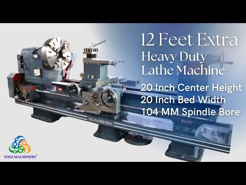 12 Feet Extra Heavy Duty Lathe Machine