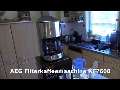 AEG KF7600 Filterkaffeemaschine - Test