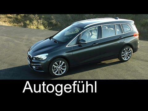 All-new 2016 BMW 2 Series Gran Tourer - BMW 2er Gran Tourer - Exterior Interior Driving