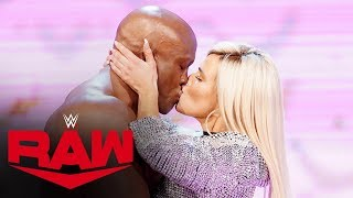Lashley's shocking kiss to Lana leads to attack on Rollins