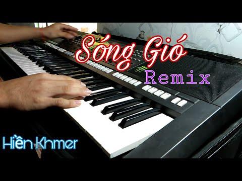 Sóng Gió Remix Jack _ K-ICM || Hiền Khmer cover Organ