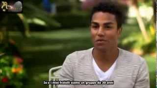 Michael Jackson's nephews open up - The Big Reunion 3T sub ita